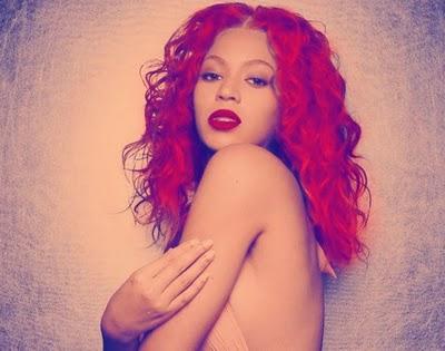beyonce red hair rihanna