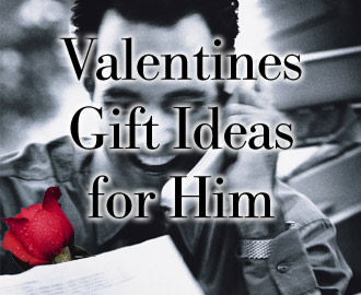 Valentine Ideas   on Valentine   S Day Gift Ideas For Him
