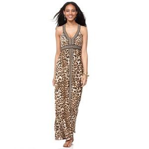 Get The Look: Mel B. in a Leopard Maxi Dress