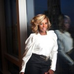 **EXCLUSIVE** Mary J. Blige poses for a portrait at The Mandarin Oriental Hotel located in Manhattan, New York