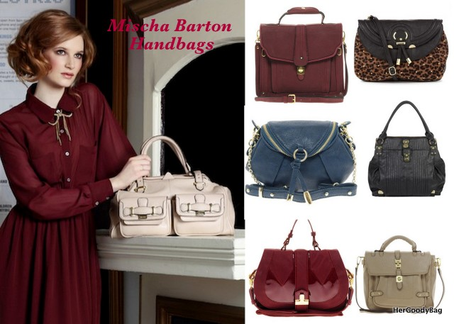 Mischa Barton Handbags Her Goody Bag