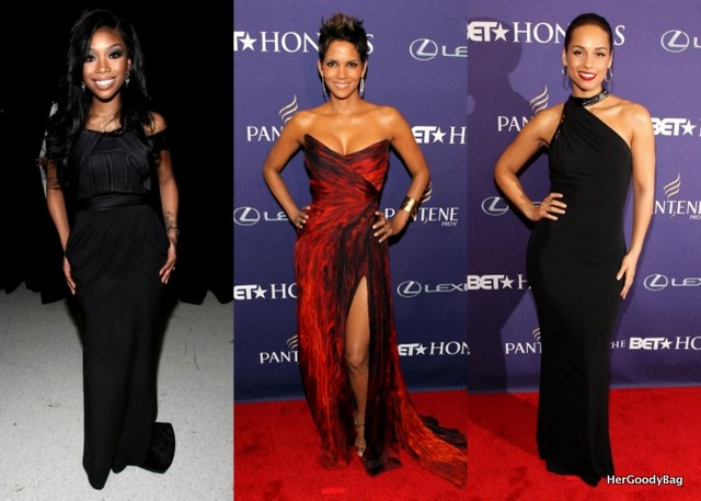 Brandy, Halle Berry, Alicia Keys