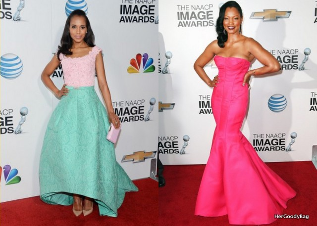 Kerry Washington and Garcelle Beauvais