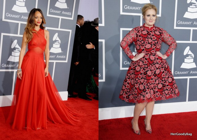 Rihanna and Adele