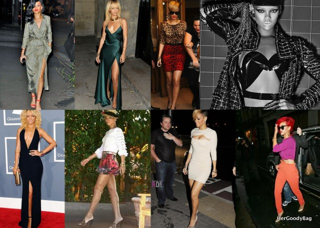 A few of our favorite looks from Rihanna