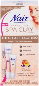 Nair Brazilian Spa Clay Face Trio