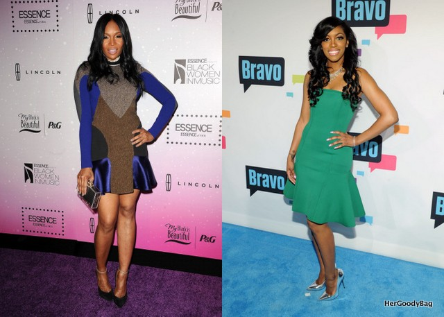 Marlo Hampton and Porsha Stewart