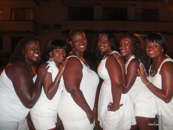 The beginning of the all white tradition
