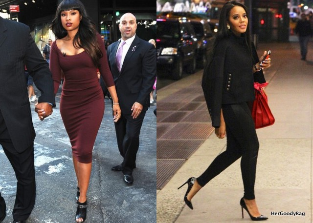 Jennifer Hudson and Angela Simmons