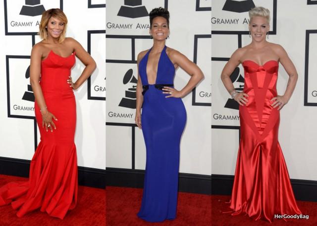 Tamar Braxton, Alicia Keys, Pink