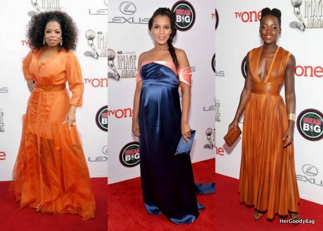 Oprah, Kerry Washington, Lupita Nyongo