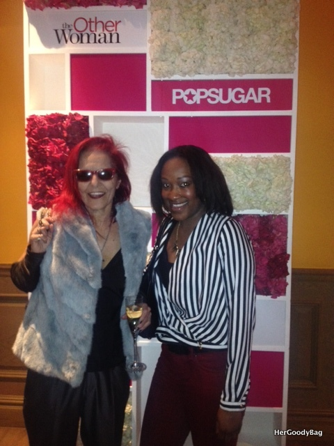 Me with the lovely Patricia Field