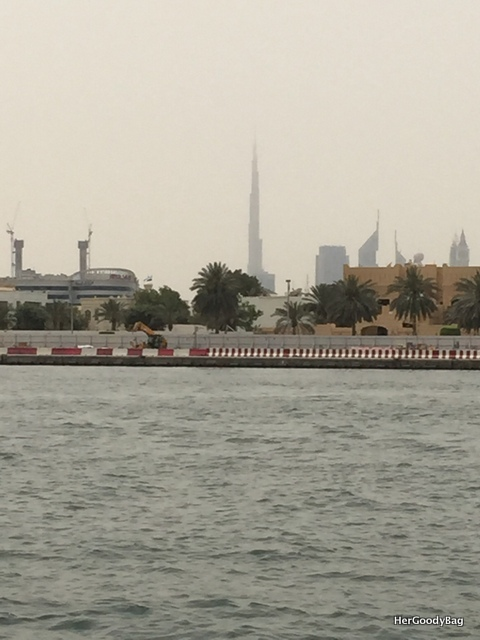 Burj Khalifa from Dubai Creek