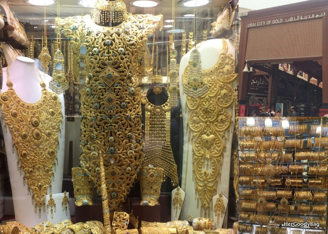 World's Largest Handmade Gold Necklace at the Gold Souk
